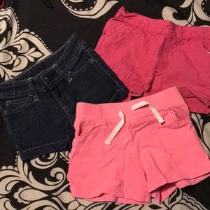 Lot of Size 4 shorts